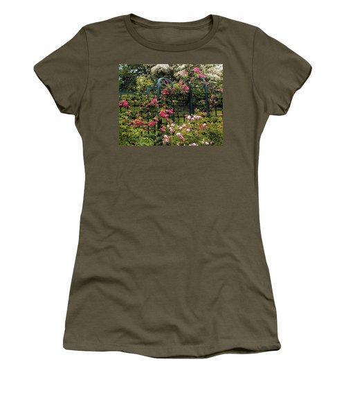 Rose Trellis Women's T-Shirt