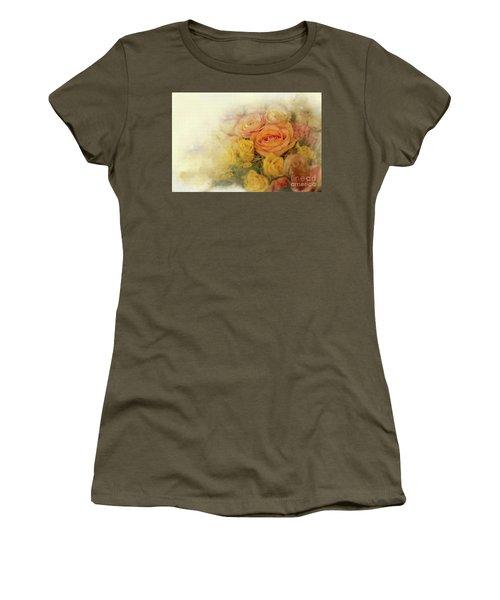 Roses For Mother's Day Women's T-Shirt (Junior Cut) by Eva Lechner
