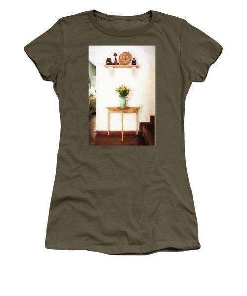 Rose's On Table Women's T-Shirt