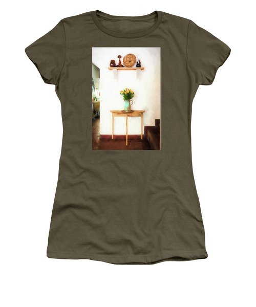 Rose's On Table Women's T-Shirt
