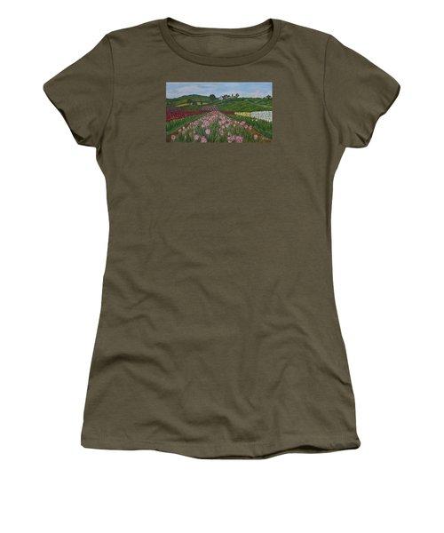 Walking In Paradise Women's T-Shirt (Junior Cut) by Felicia Tica