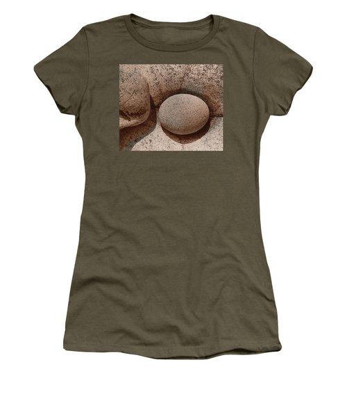 Round Stone On Rock Women's T-Shirt