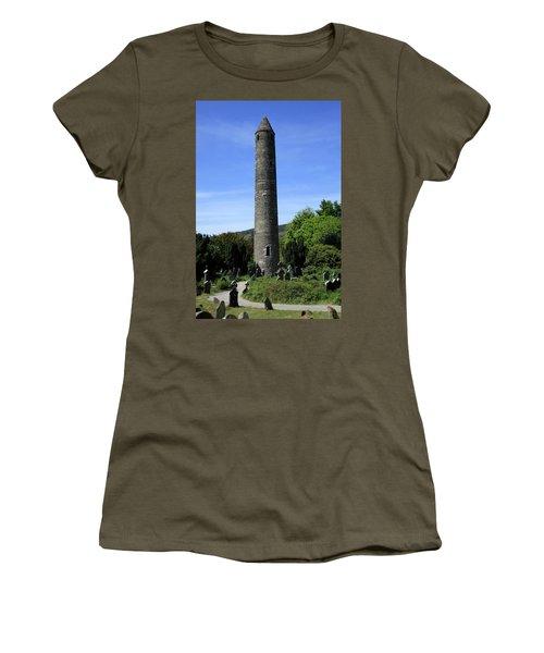 Round Tower At Glendalough Women's T-Shirt