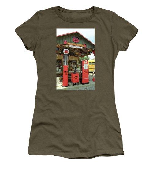 Route 66 - Shea's Gas Station Women's T-Shirt
