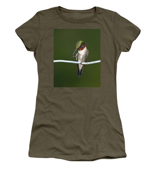 Ruby-throated Hummingbird Women's T-Shirt