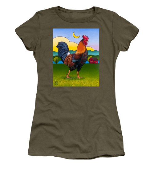 Rufus The Rooster Women's T-Shirt