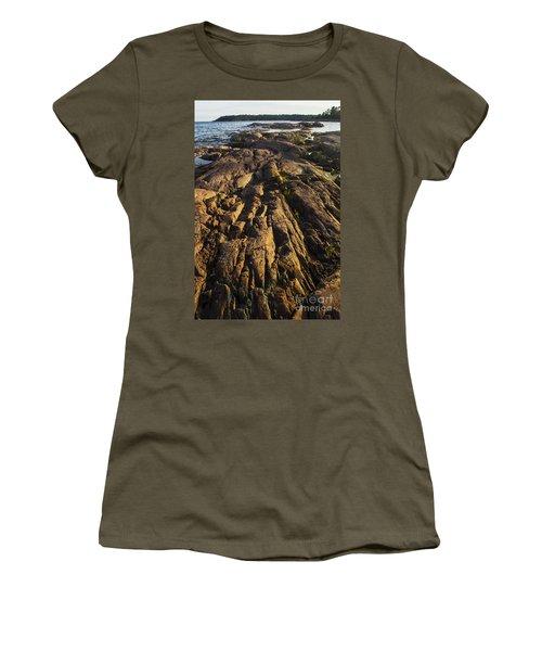 Rugged Killarney Shoreline-4441 Women's T-Shirt