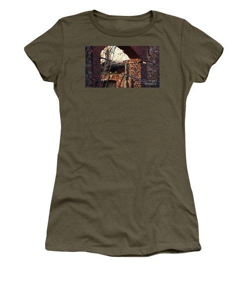 Ruin After Big Fire  Women's T-Shirt