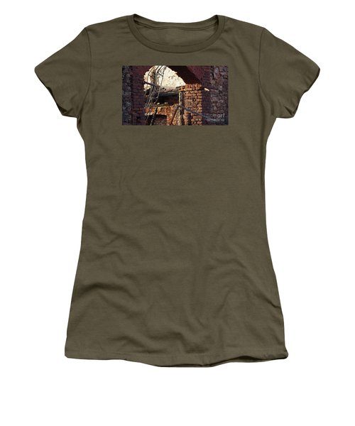 Ruin After Big Fire  Women's T-Shirt