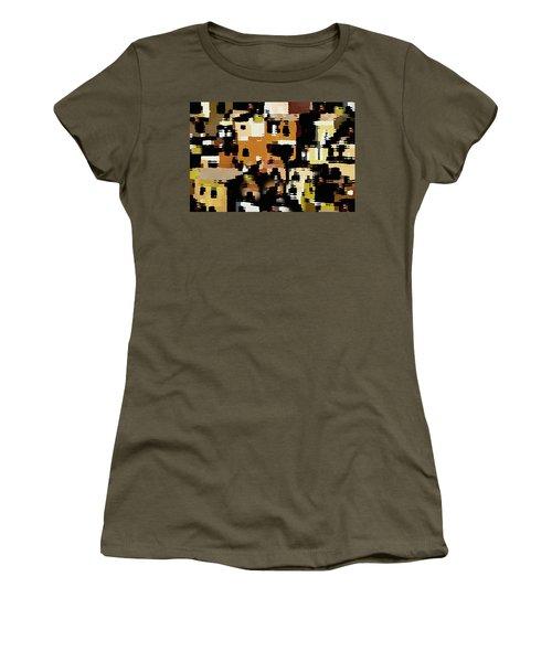 Ruins, An Abstract Women's T-Shirt