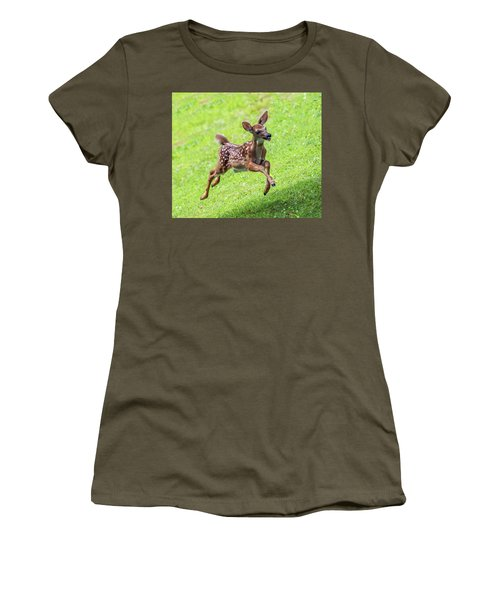 Running And Jumping Women's T-Shirt