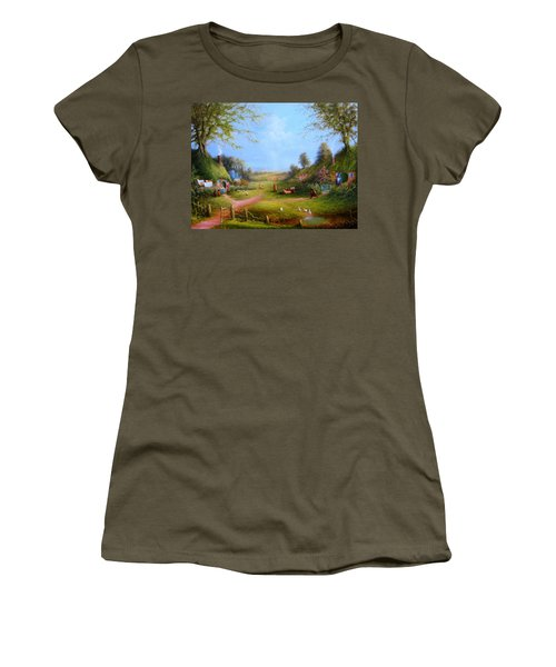 Running Late Women's T-Shirt (Athletic Fit)