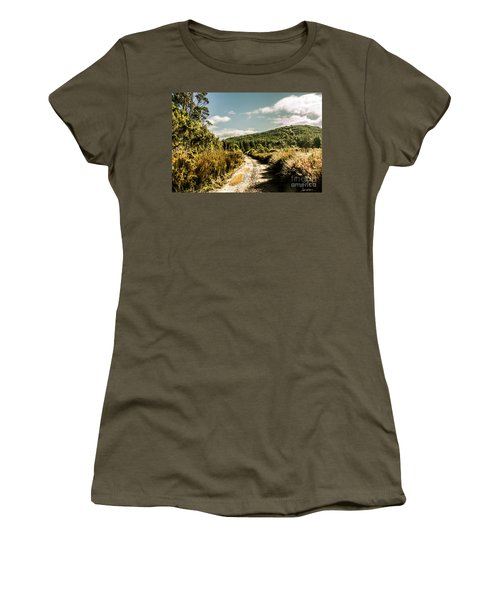Rural Paths Out Yonder Women's T-Shirt