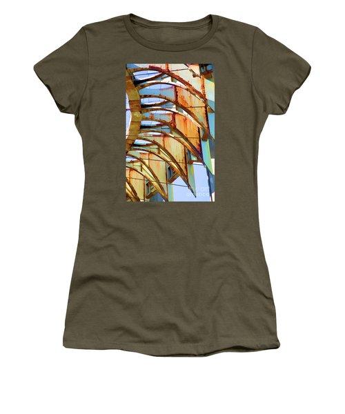 Rust Pavilion World's Fair 1964 Ny Women's T-Shirt (Athletic Fit)