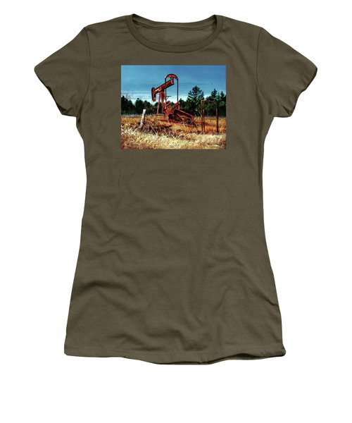Rusty Pump Jack Women's T-Shirt