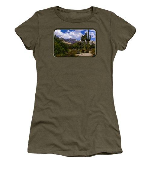 Sabino Canyon No4 Women's T-Shirt