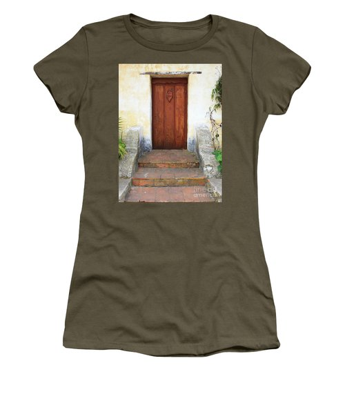 Sacred Heart Door Women's T-Shirt