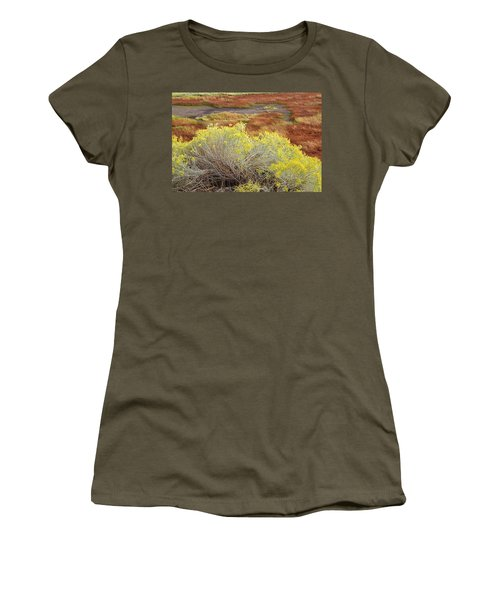 Sagebrush In The Malheur National Wildlife Refuge Women's T-Shirt