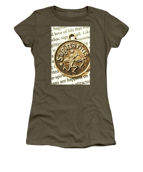 Sagittarius Astrology Design Women's T-Shirt