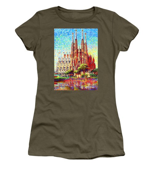 Sagrada Familia Women's T-Shirt (Athletic Fit)