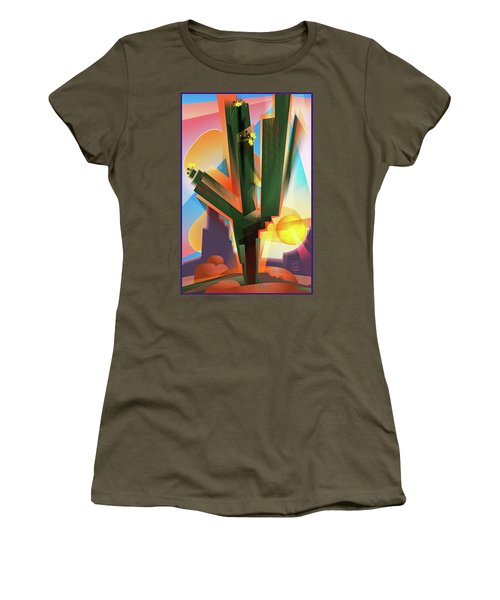 Saguaro Sunrise Women's T-Shirt