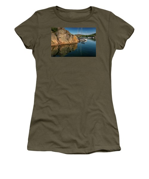 Sailing In Sweden Women's T-Shirt (Junior Cut) by Martina Thompson