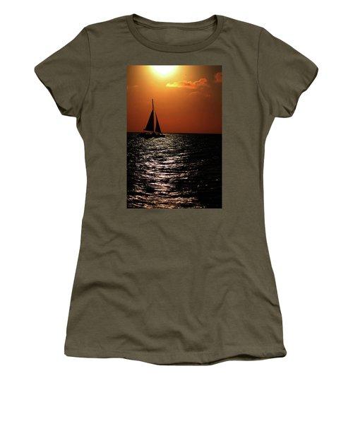 Sailing Into The Sunset Women's T-Shirt