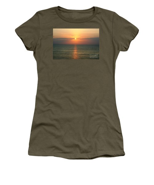 Women's T-Shirt (Junior Cut) featuring the photograph Sailor's Delight by John Black