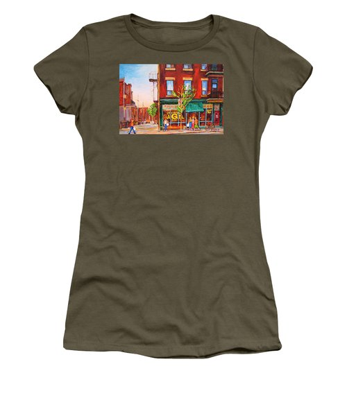 Saint Viateur Bagel Women's T-Shirt