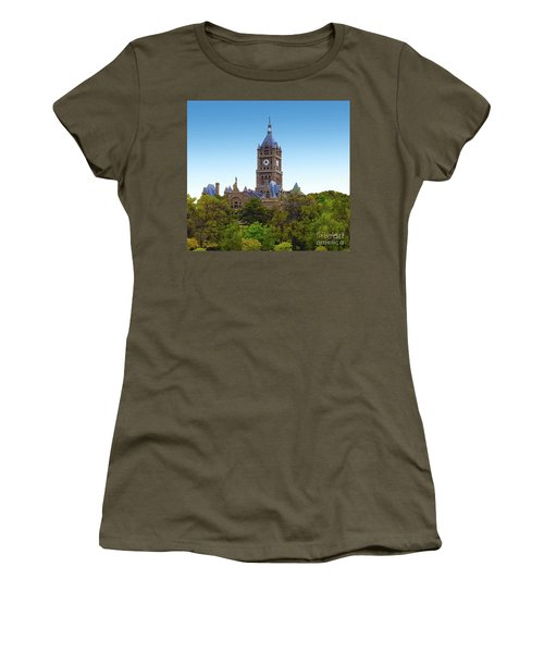 Salt Lake City Hall Women's T-Shirt (Athletic Fit)