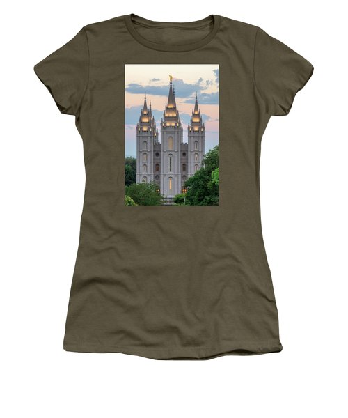 Salt Lake City Temple Morning Women's T-Shirt