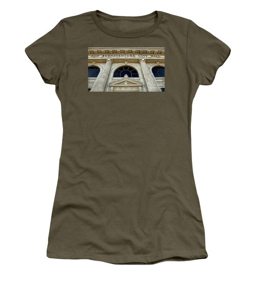 San Buenaventura City Hall Women's T-Shirt (Junior Cut) by John A Rodriguez