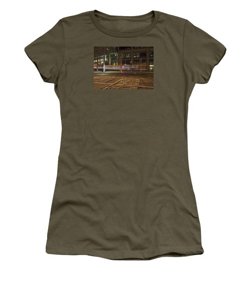 San Diego Trolly Women's T-Shirt (Athletic Fit)