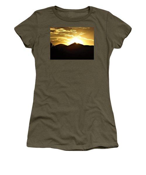 San Francisco Peaks At Sunset Women's T-Shirt