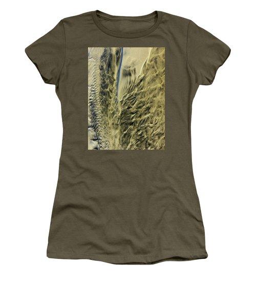 Sand Sculpture Women's T-Shirt (Athletic Fit)