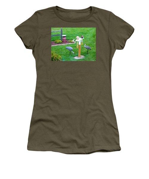 Sandhill Alert Women's T-Shirt (Athletic Fit)