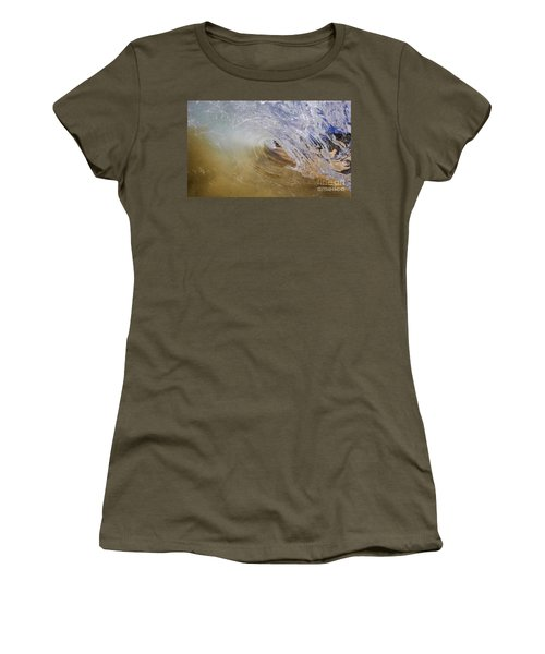 Sandy Beachbreak Wave Women's T-Shirt