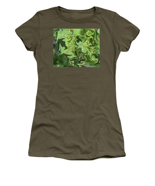 Sanibel Seagrapes Women's T-Shirt (Junior Cut) by Melinda Saminski