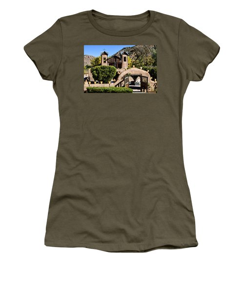 Santuario De Chimayo Women's T-Shirt (Athletic Fit)
