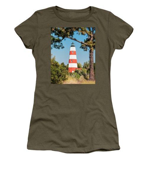 Sapelo Light Women's T-Shirt (Athletic Fit)