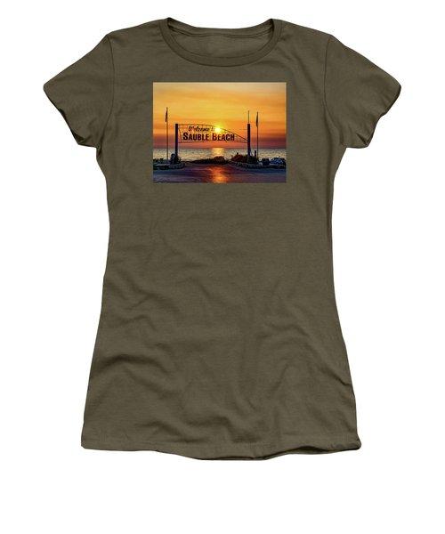 Sauble Beach Sunset 2 Women's T-Shirt