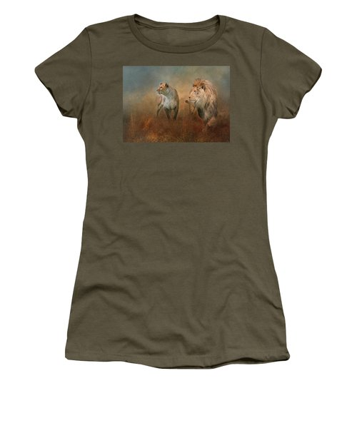 Savanna Lions Women's T-Shirt