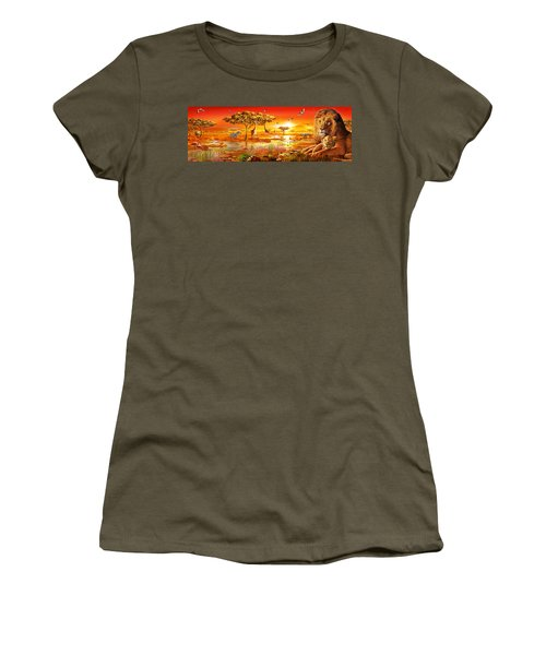 Savanna Sundown Women's T-Shirt