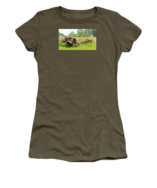 Saw Better Days Women's T-Shirt (Junior Cut) by Jeanette Oberholtzer