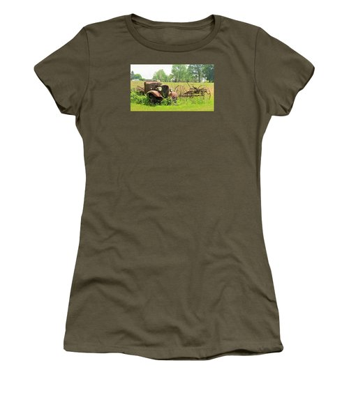 Saw Better Days Women's T-Shirt (Athletic Fit)