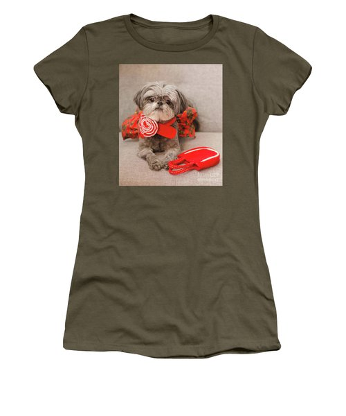 Scarlett And Red Purse Women's T-Shirt (Athletic Fit)