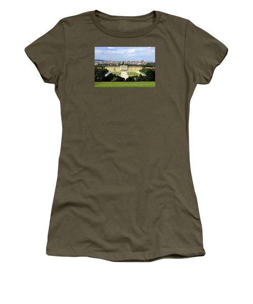 Schloss Schoenbrunn, Vienna Women's T-Shirt (Junior Cut) by Christian Slanec