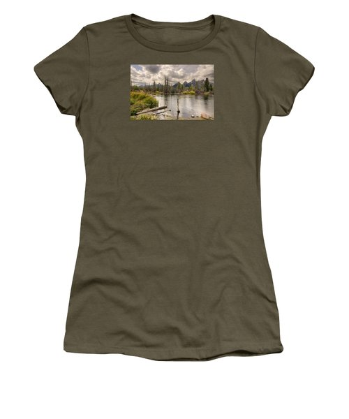 Schwabachers Landing Women's T-Shirt (Junior Cut) by John Gilbert