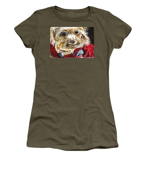 Scooter From Muttville Women's T-Shirt (Athletic Fit)