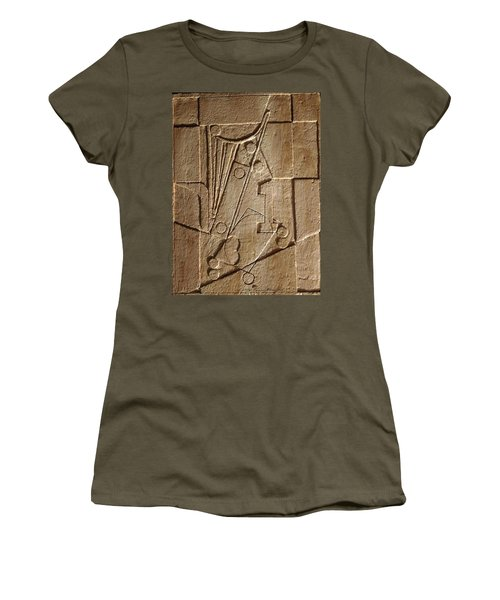 Sculptured Panel - Influenced By Picasso's Painting Having The Number 1 Women's T-Shirt